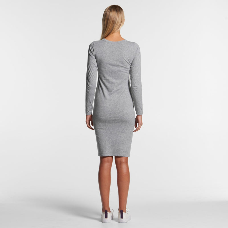 AS Colour 4033 Mika Organic Long Sleeve Dress Ladies 4