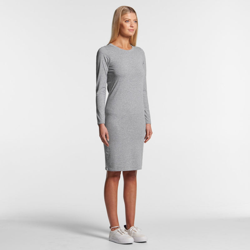AS Colour 4033 Mika Organic Long Sleeve Dress Ladies 2
