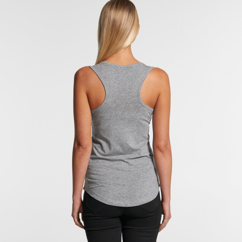 AS Colour 4045 Yes Racerback Singlet Ladies-rear