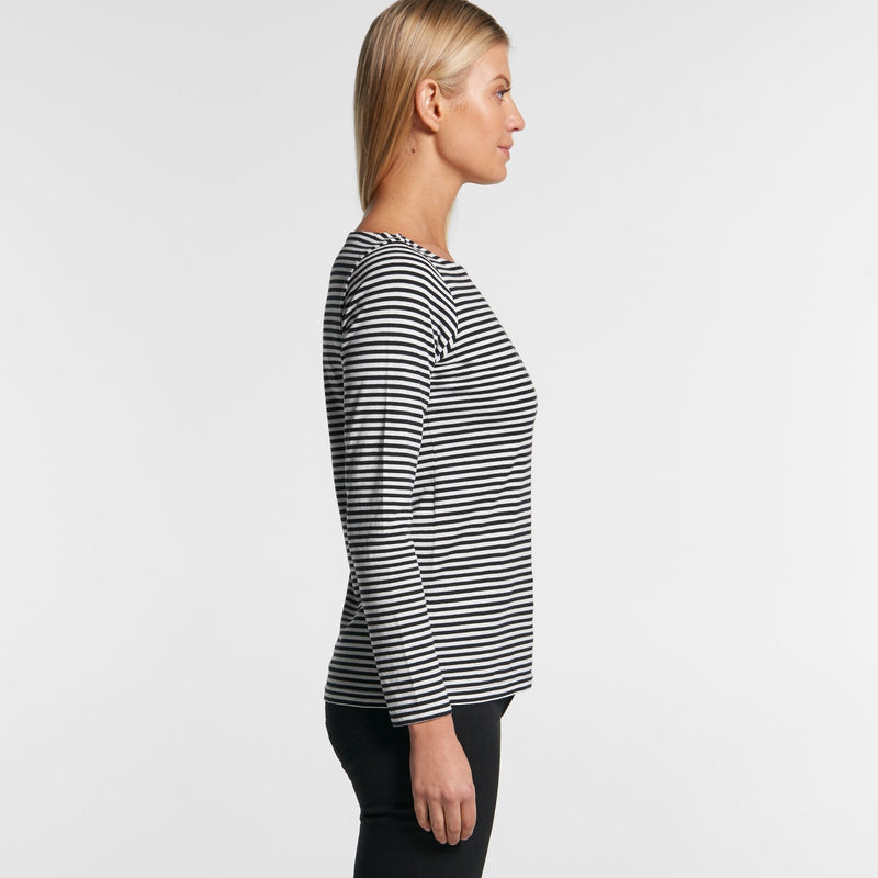 AS Colour 4061 Bowery Stripe Long Sleeve-side