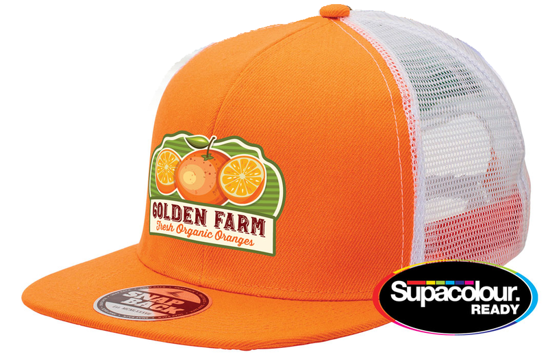 Snapback Trucker - with Supacolour Print