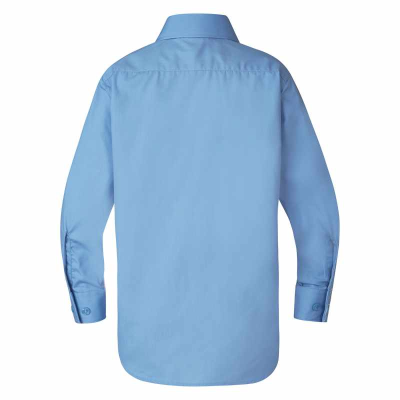 Barton Boys' Long Sleeve School Shirt