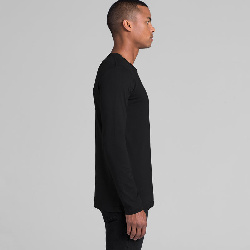 AS Colour 5009 Ink Long Sleeve Tee Mens side