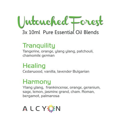 100% Pure Essential Oil Blends: Untouched Forest Collection