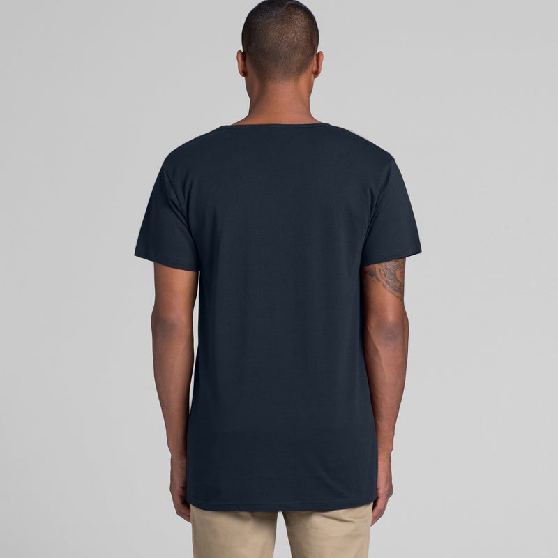 AS Colour 5011 Shadow Tee Mens rear