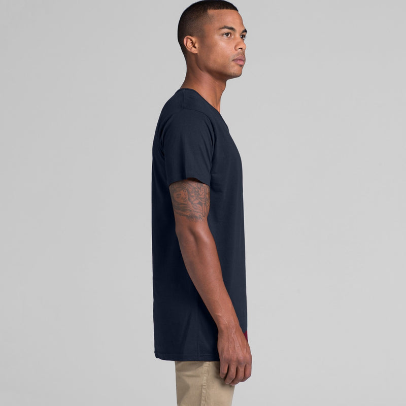 AS Colour 5011 Shadow Tee Mens side