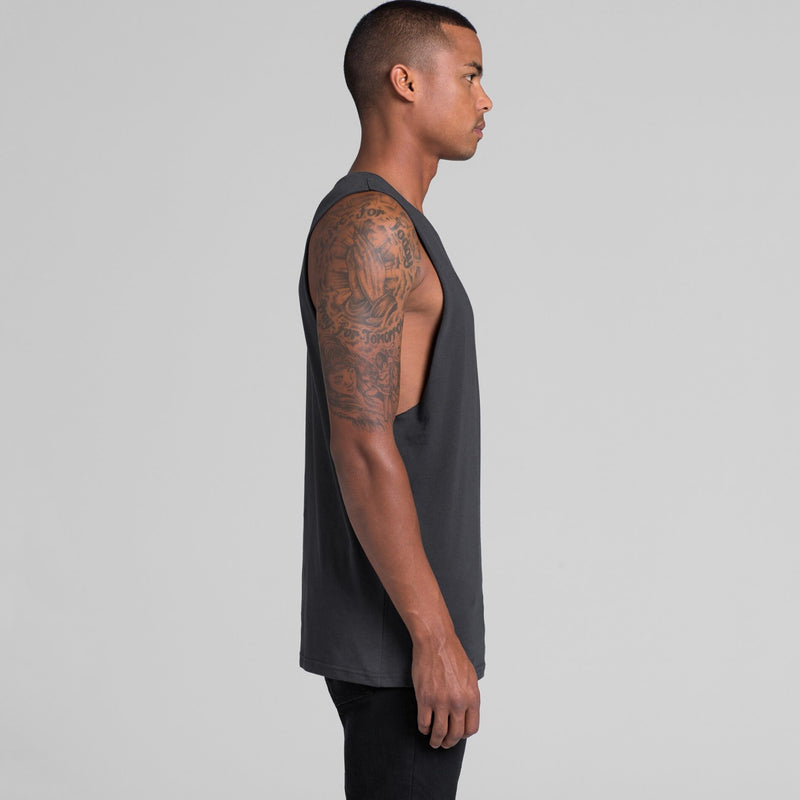 AS Colour 5025 Singlet Barnard Tank Tee Mens side