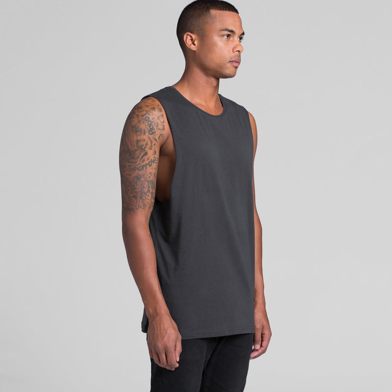 AS Colour 5025 Singlet Barnard Tank Tee Mens turn
