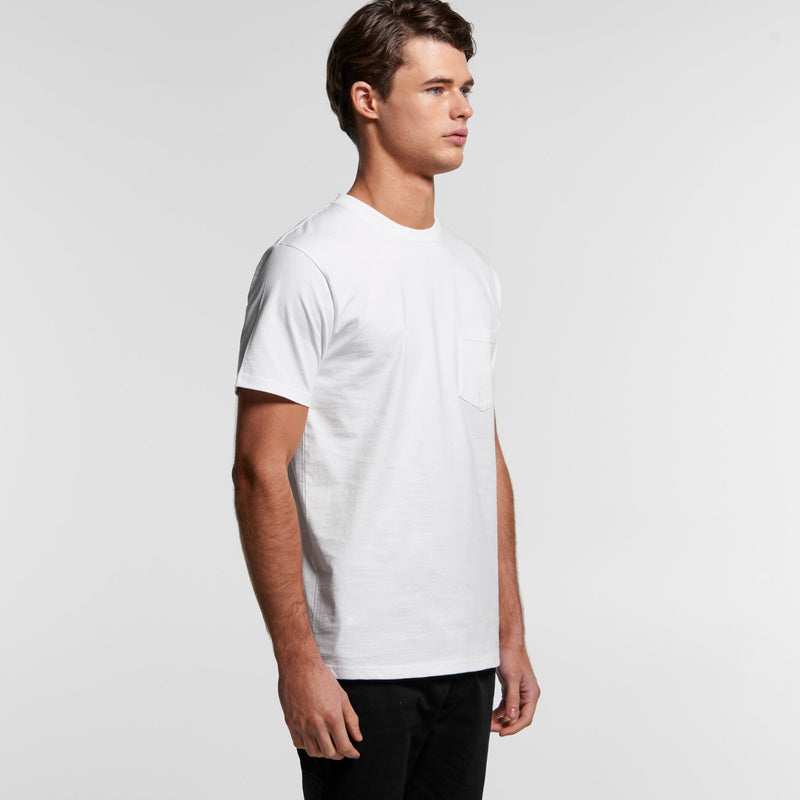 AS Colour 5027 Classic Pocket Tee Mens turn
