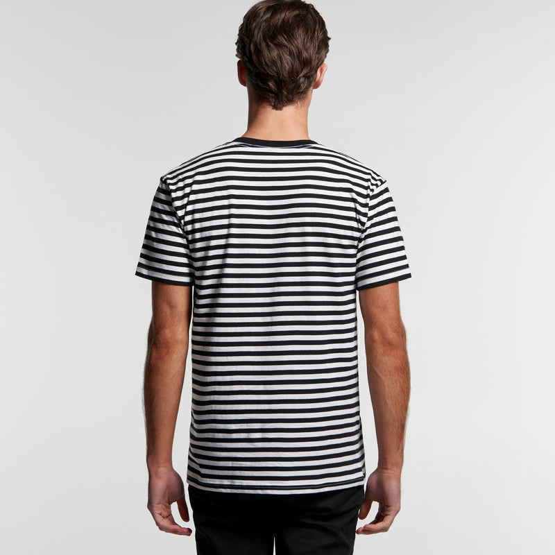 AS Colour 5028 Staple Stripe Tee Mens rear