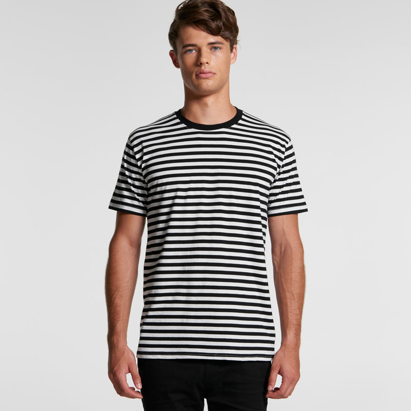 AS Colour 5028 Staple Stripe Tee Mens