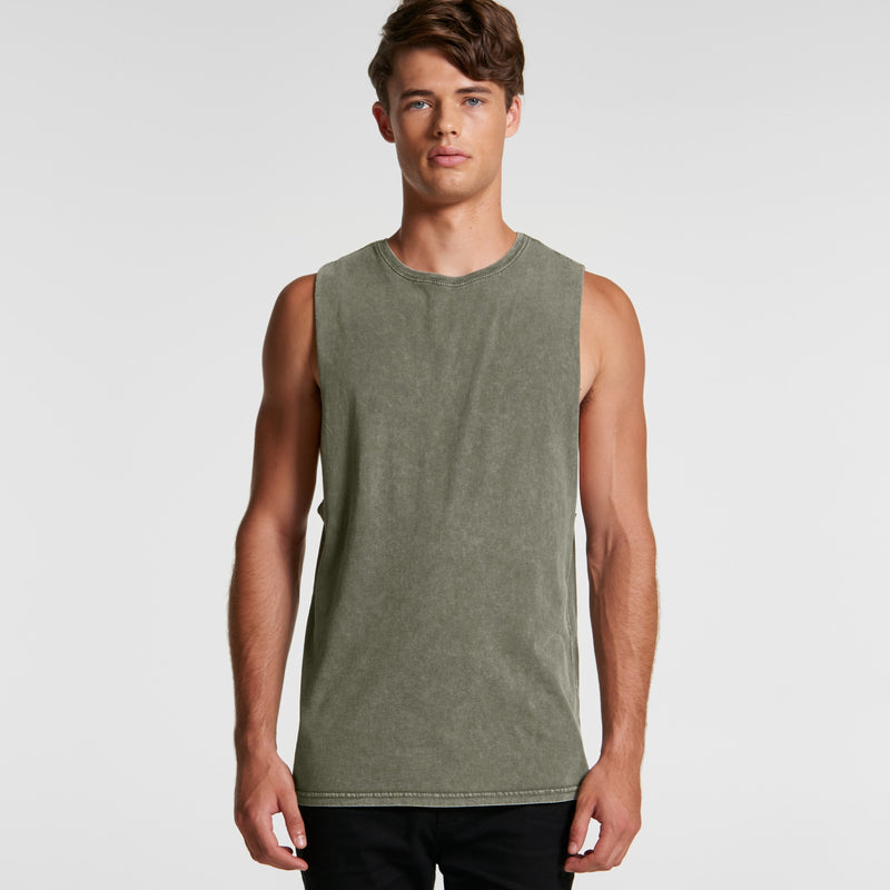 AS Colour 5039 Stone Wash Barnard Tank Mens