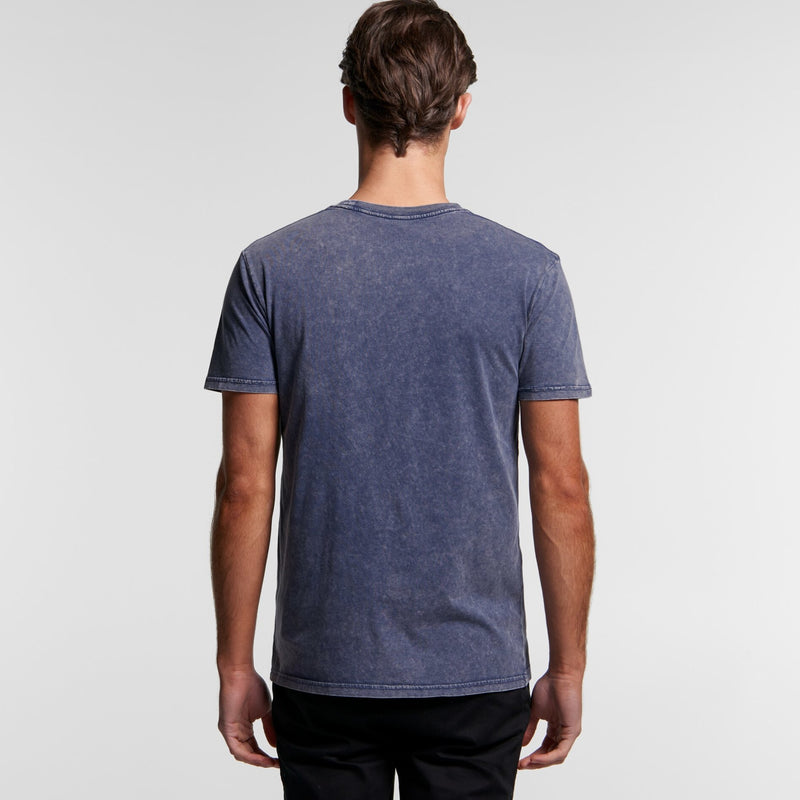 AS Colour 5040 Stone Wash Tee Mens rear