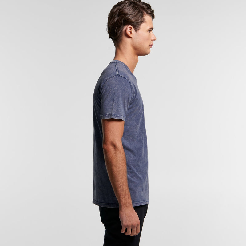 AS Colour 5040 Stone Wash Tee Mens side