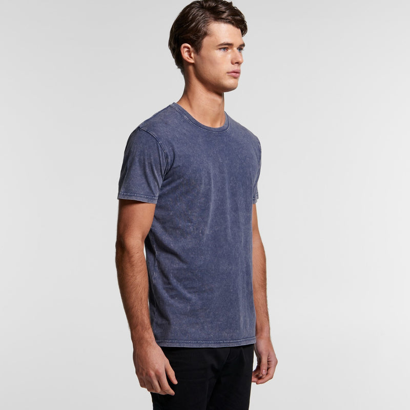 AS Colour 5040 Stone Wash Tee Mens turn