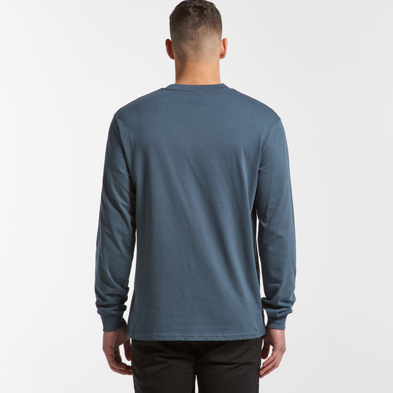 AS Colour 5056 General Long Sleeve Tee Mens rear