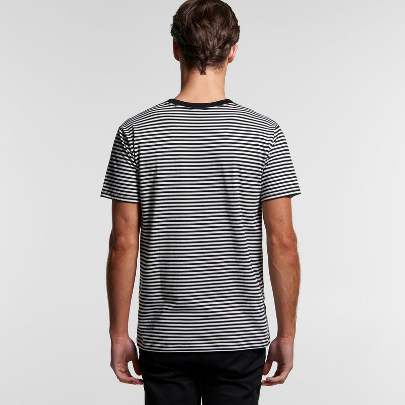 AS Colour 5060 Bowery Stripe Tee Mens rear