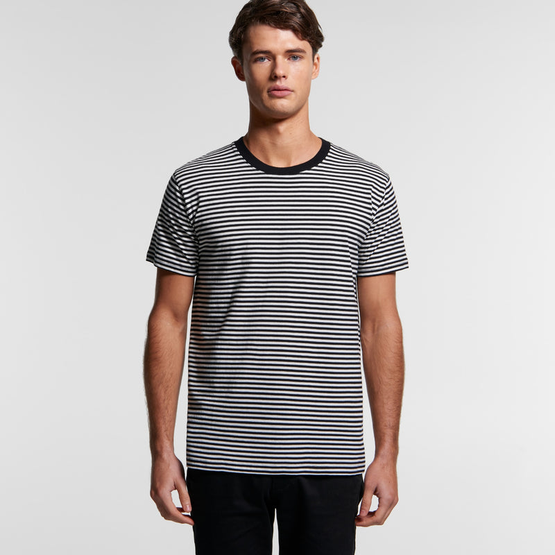 AS Colour 5060 Bowery Stripe Tee Mens