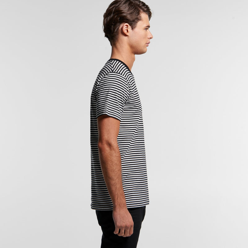 AS Colour 5060 Bowery Stripe Tee Mens side