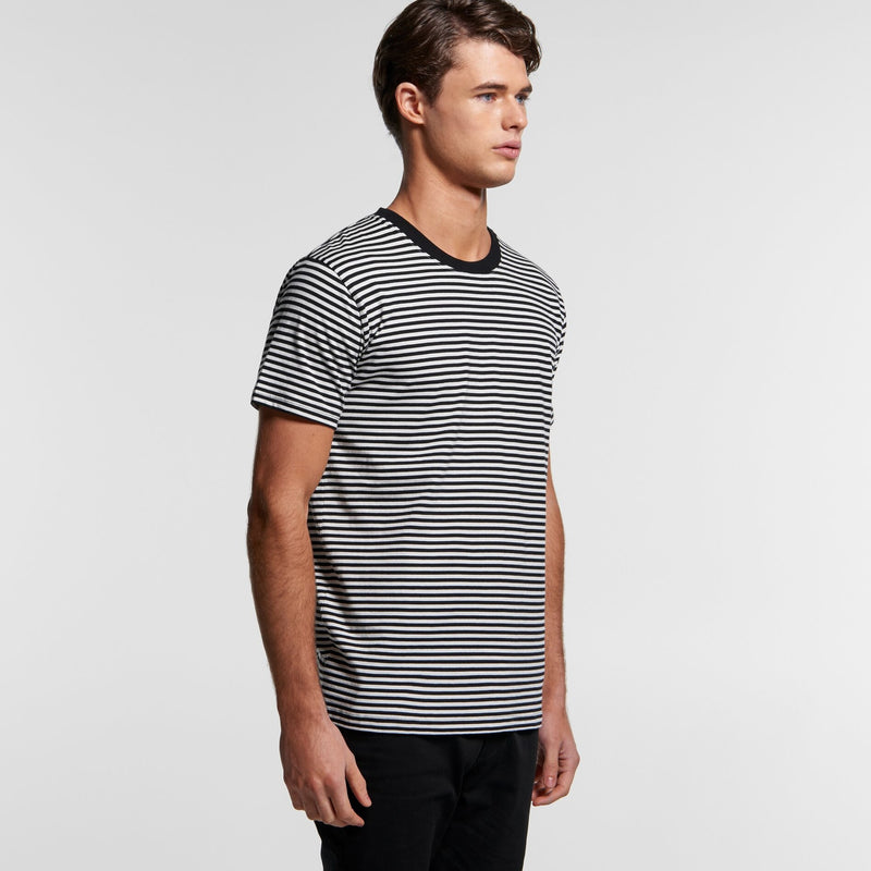 AS Colour 5060 Bowery Stripe Tee Mens turn
