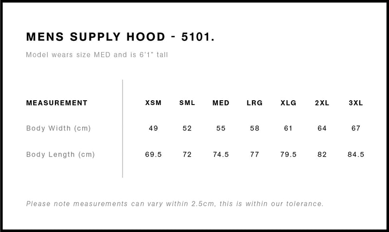 AS Colour 5101 Supply Hood Mens size