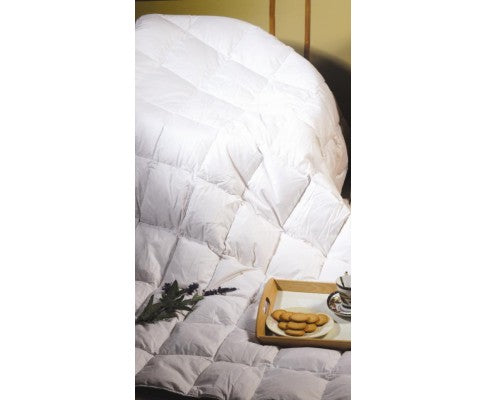 100% White Duck Feather Quilt