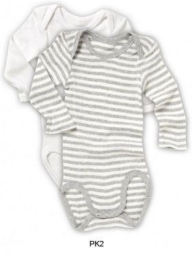 L/S Bodysuit 2 Pack