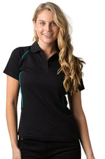 Black/Teal Complete Polo
