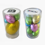 Tube Filled With Easter Eggs (1x17g Egg & 3 Mini Eggs)
