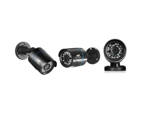 1080P Four Channel HDMI CCTV Security Camera (2) 1TB