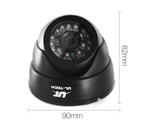 1080P Four Channel HDMI CCTV Security Camera 1 TB (2)