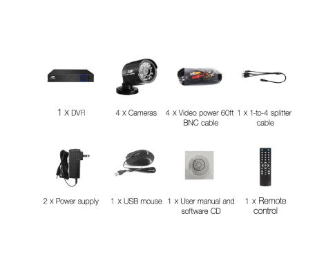 1080P Eight Channel HDMI CCTV Security Camera (4)