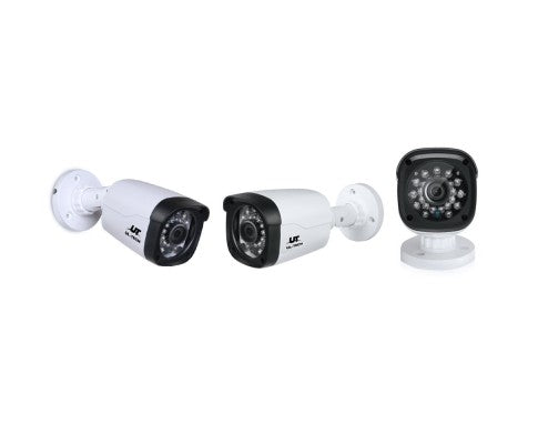 1080P Eight Channel HDMI CCTV Security Camera (4) 1 TB White
