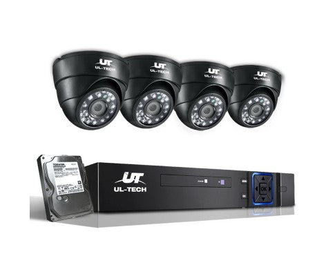 1080P Eight Channel HDMI CCTV Security Camera (4) 1 TB