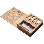 Lanark Cheese Knife Display Set - Including Mirror Finish Logo