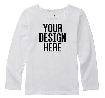 Design Your Own Personalised Baby/Kids L/S Tee