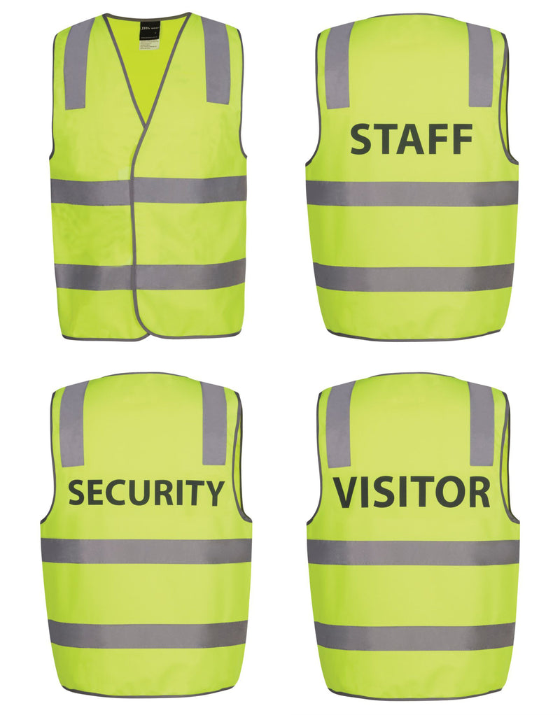 7f1e937e0129f Hi Vis D+N Safety Vest Security Staff Visitor – Uniforms and ...