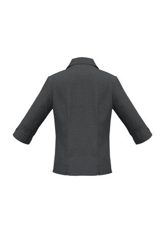 Plain Oasis 3/4 Sleeve Shirt Ladies