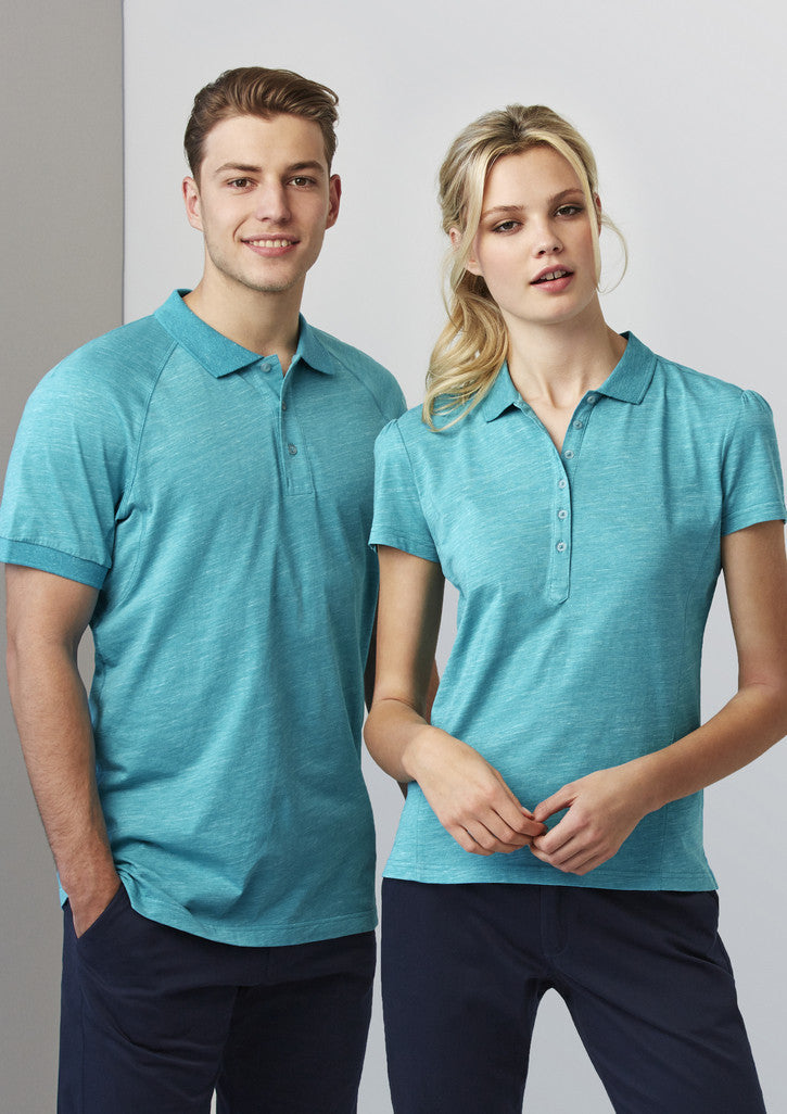 Turquoise Blue color of this Polo