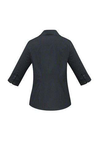 Reno Stripe 3/4 Sleeve Shirt Ladies