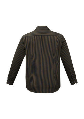 Reno Stripe Long Sleeve Shirt Mens