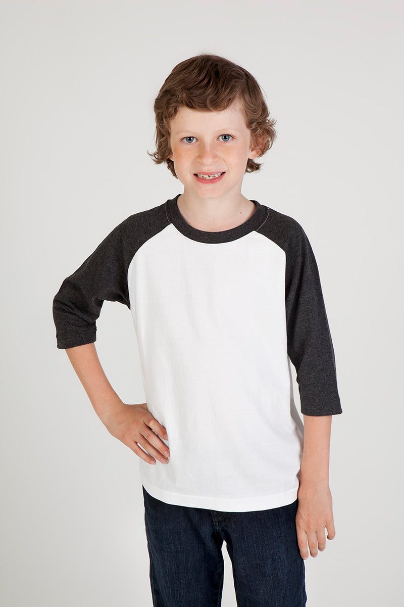 Kids 3/4 Raglan Sleeve T-shirt