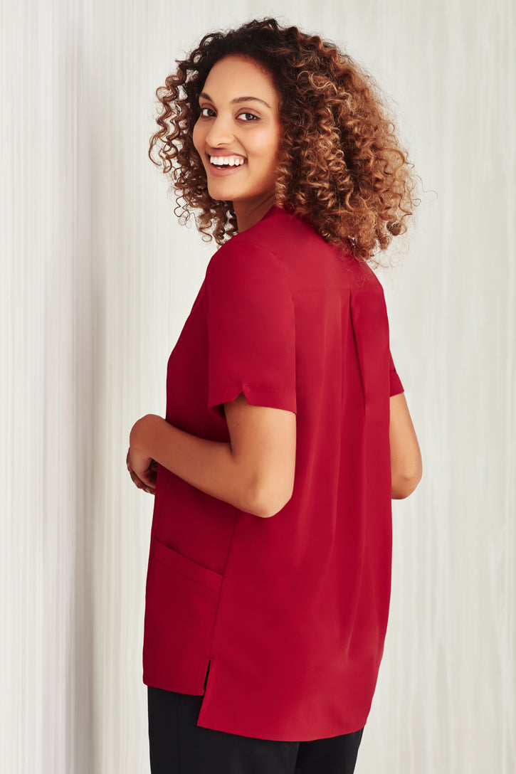 Biz Collection CS949LS Easy Stretch Tunic Ladies_rear