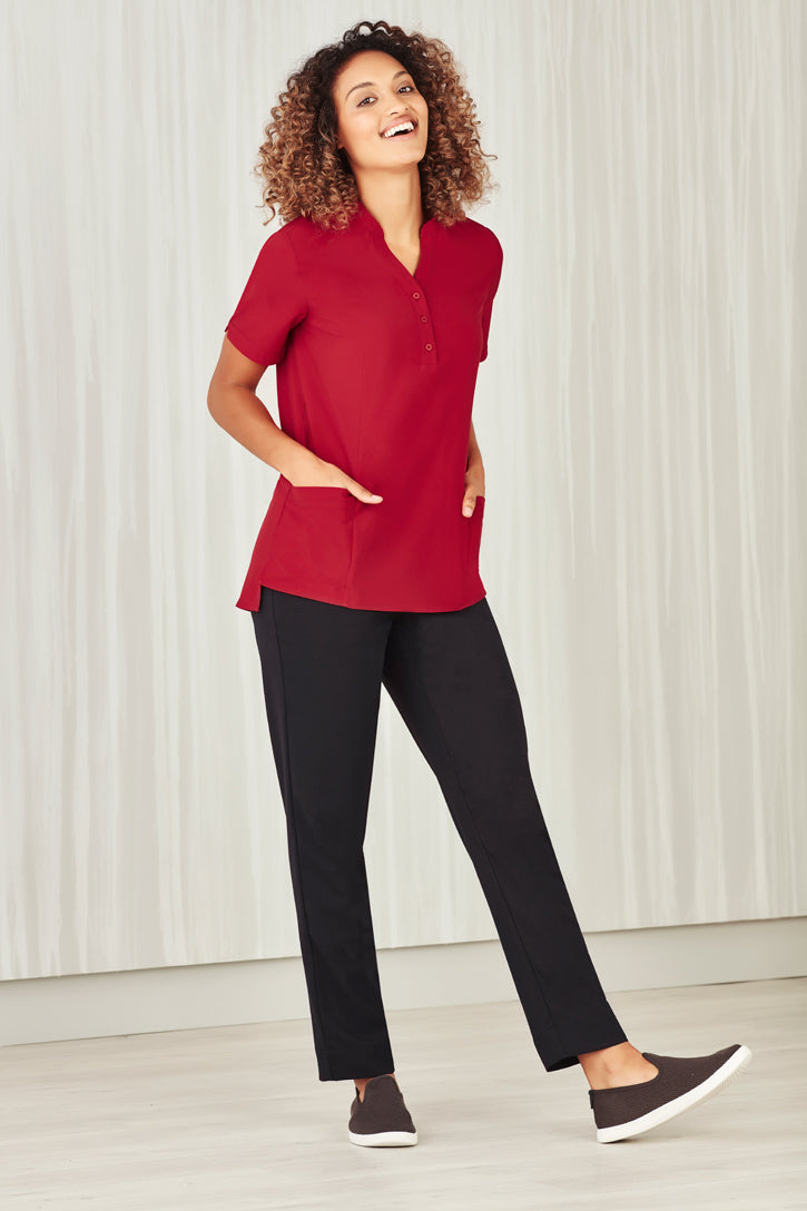 Biz Collection CS949LS Easy Stretch Tunic Ladies_2