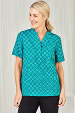 biz-collection-cs950ls-easy-stretch-daisy-print-tunic-ladies