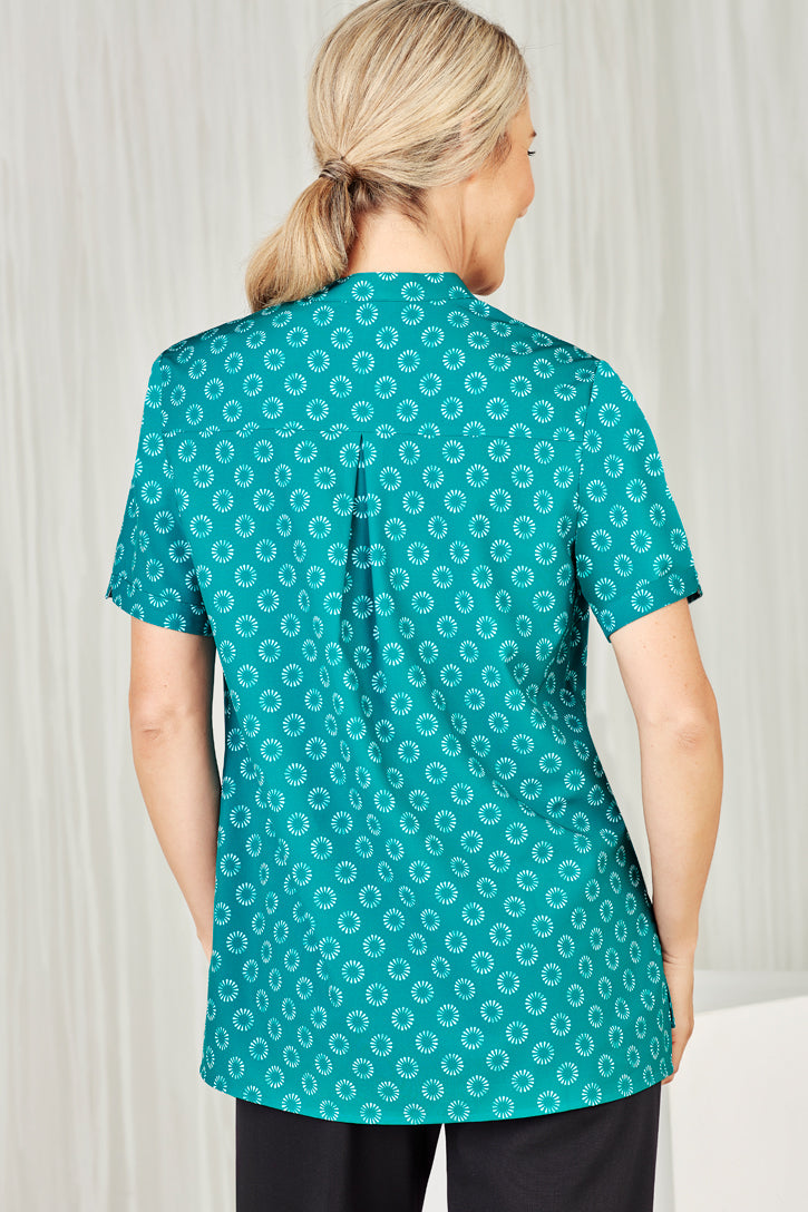 Easy Stretch Daisy Print Tunic Ladies