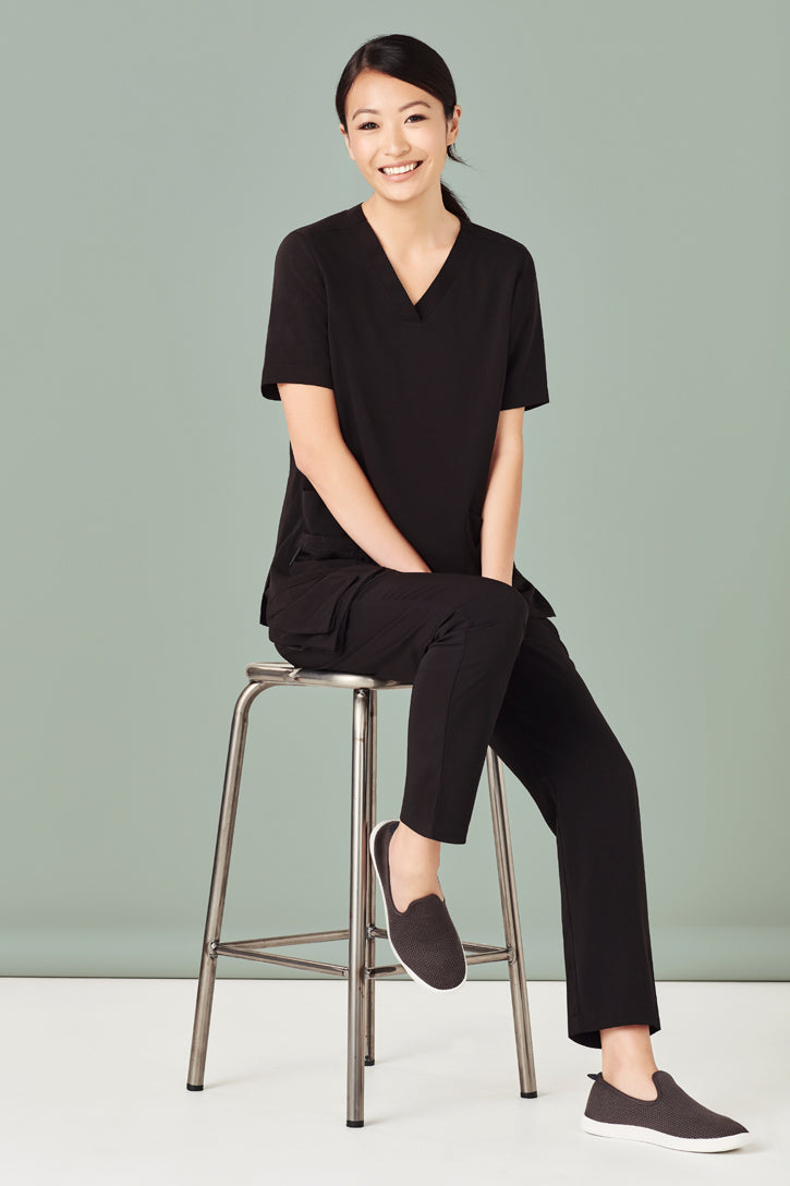 Biz Collection CSP944LL Straight Leg Scrub Pant Ladies_4