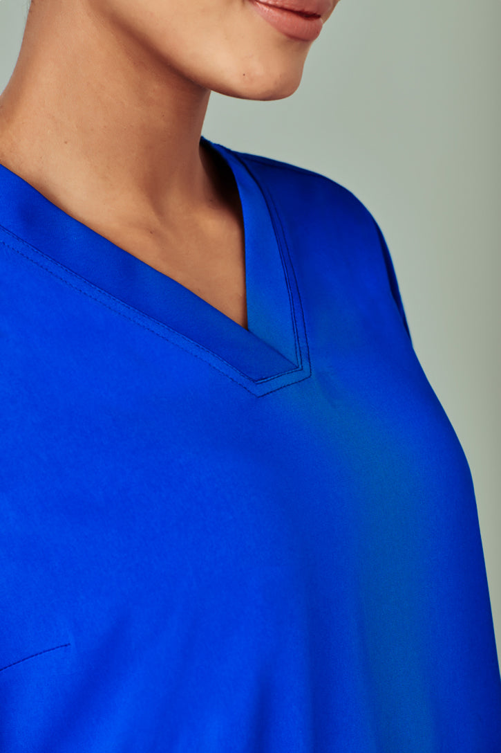Biz Collection CST941LS Easy Fit V-Neck Scrub Top Ladies_4