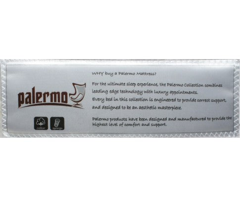 PALERMO Spring Mattress - Double