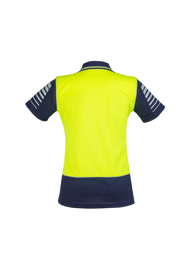 Womens Hi Vis Zone Polo